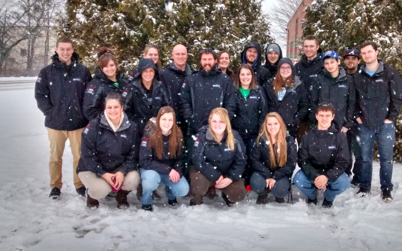 AT students assist at Biathlon