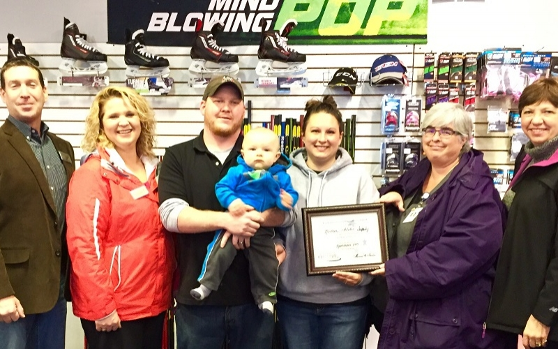 Northern Athletic Supply receives Chamber award