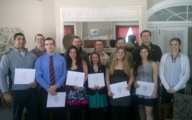 Alpha Sigma Phi induction