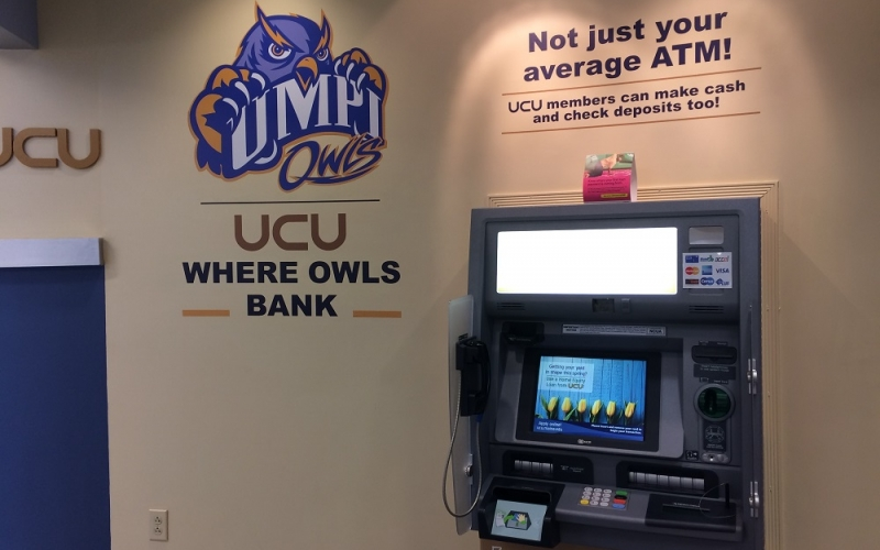 New ATM (and look) at the UCU branch