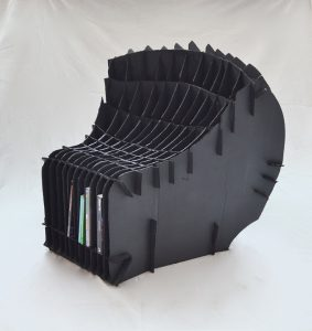 Cardboard Chair - Dylan Ouellette