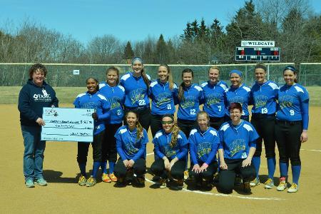 Softball donates to Children's Miracle Network