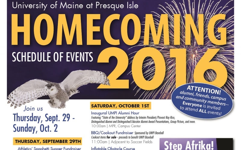 UMPI prepares for action-packed Homecoming