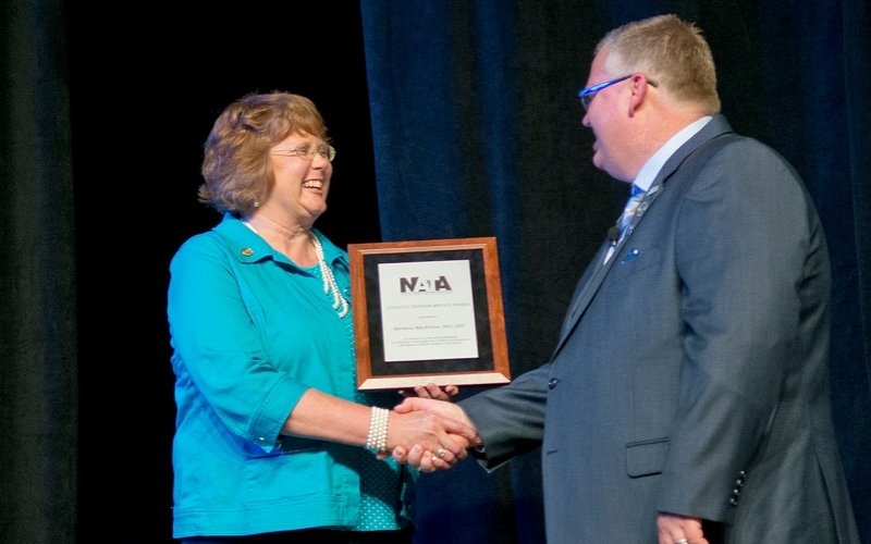 Blackstone honored with national AT award