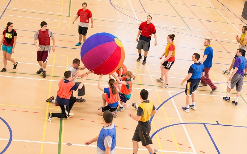 PI Students host Fit and Fun Day