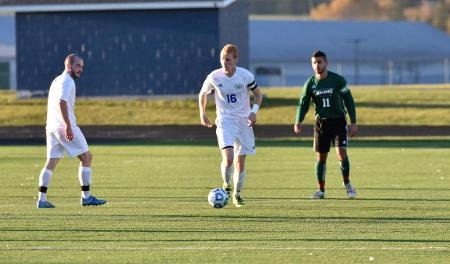 Owls roll at Hampshire College; game ends 6-2