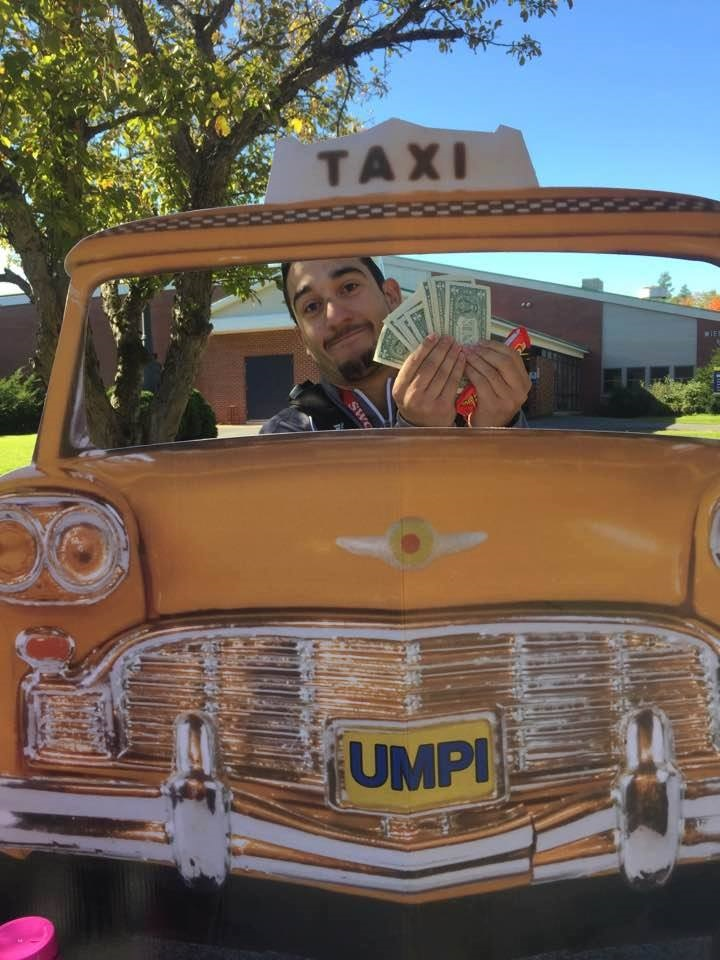 "SALT Cash Cab at work for ""Know Your Money Day"""