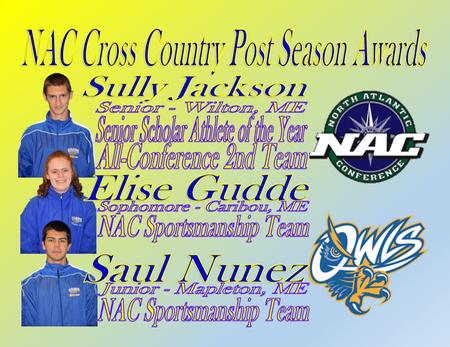 NAC postseason Cross Country Awards announced