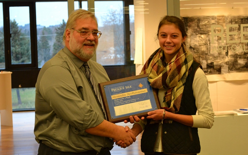 October Student of the Month: Alexandra DesRuisseaux