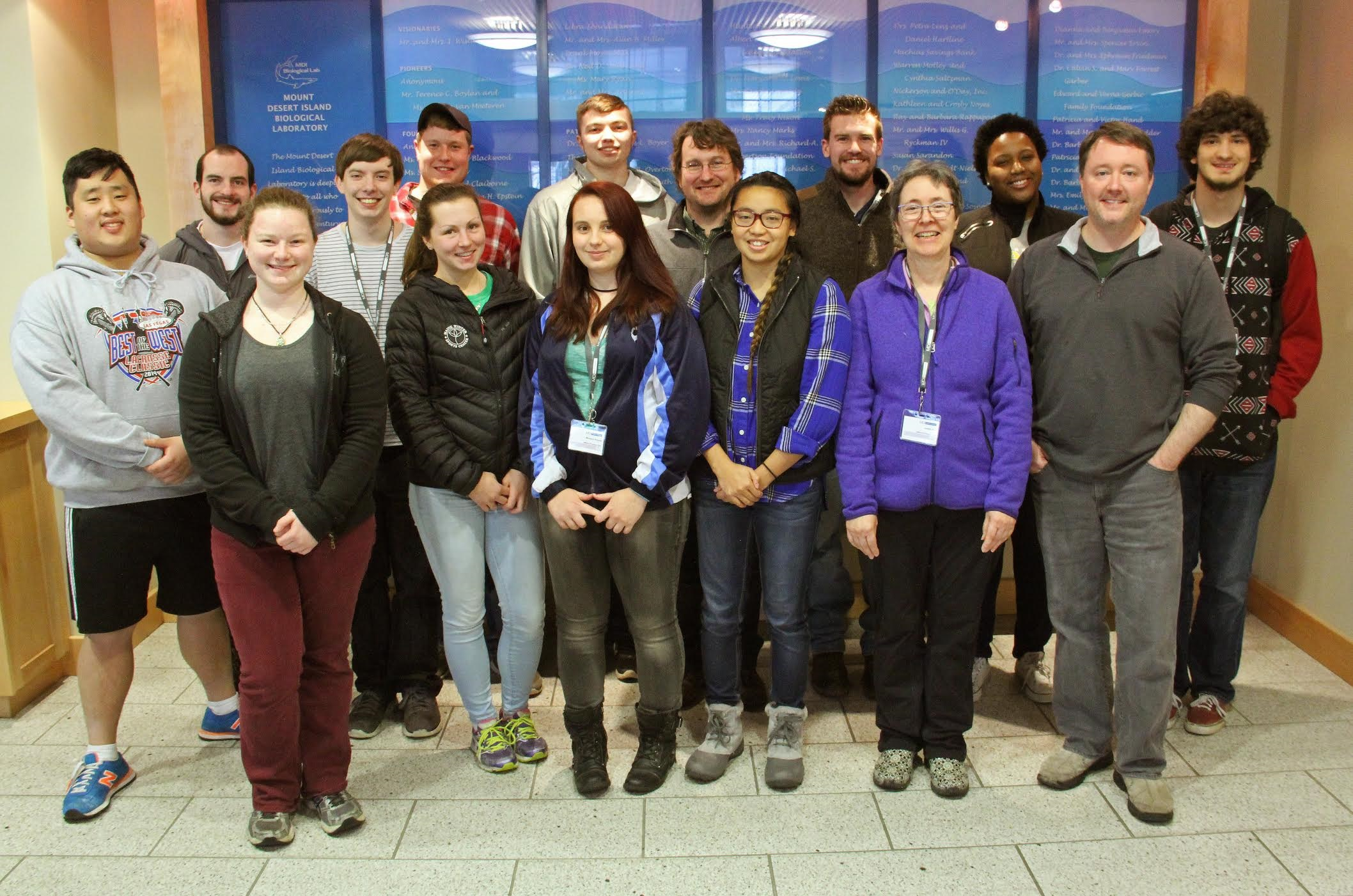 Biology students attend Biomedical short course at MDIBL