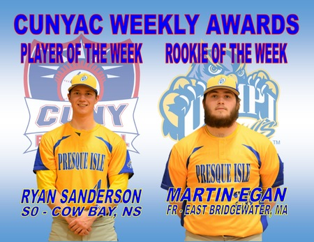 Two Owls Named in CUNYAC Weekly Awards