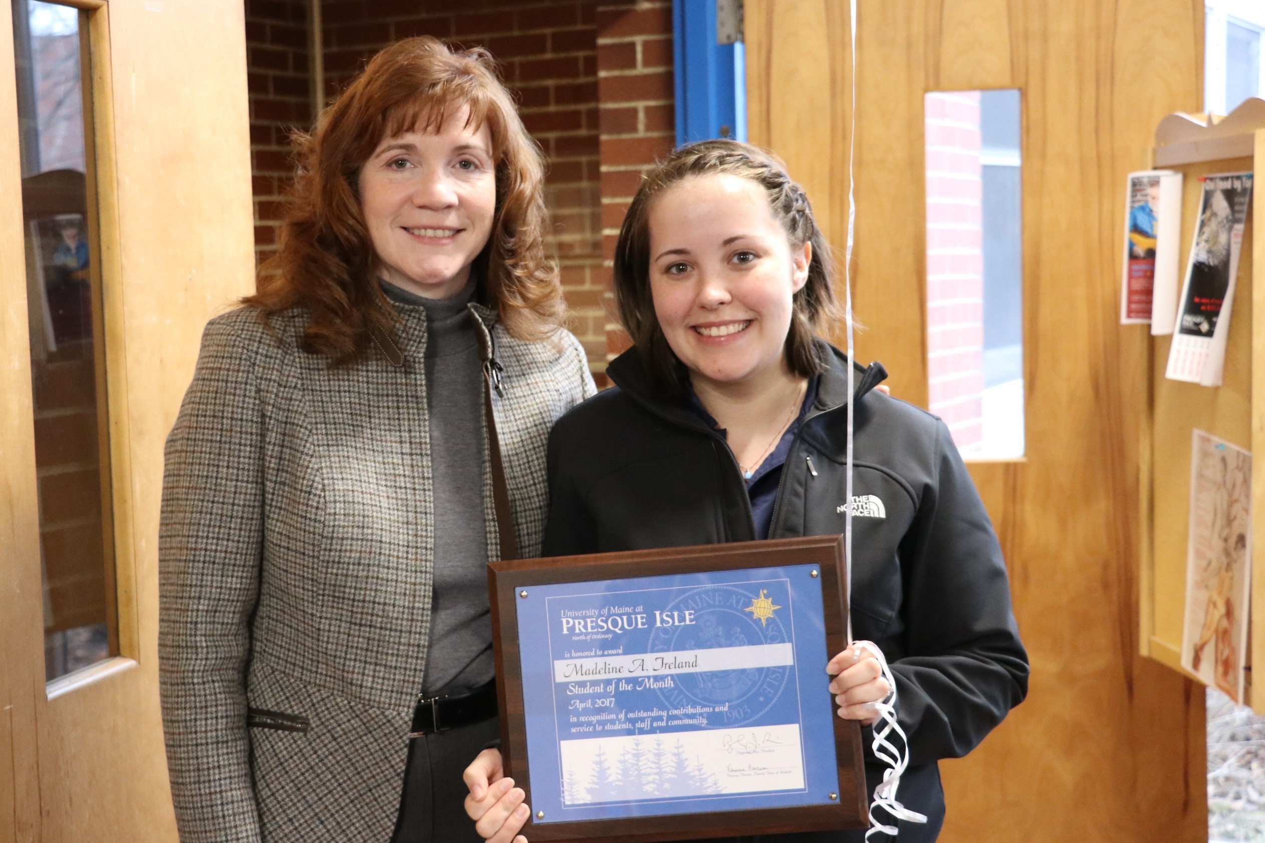 April Student of the Month: Madeline Ireland