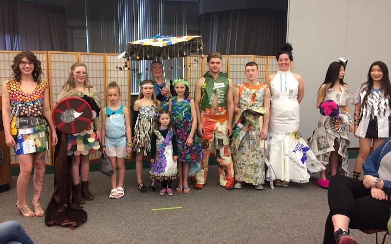 Campus, community enjoy Trash to Fashion show
