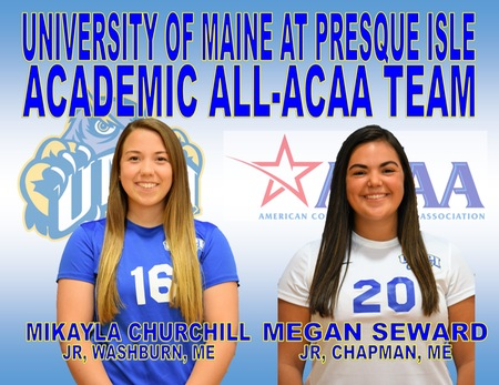 Two Lady Owls Named to the Academic All-ACAA Team