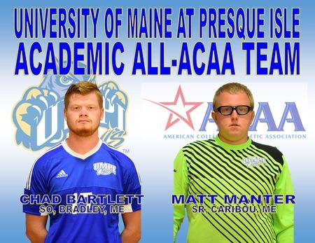 Men's Soccer Academic All-ACAA Team Announced