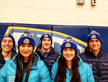 """Maine Skiing"" hats available from UMPI Nordic Ski Team"