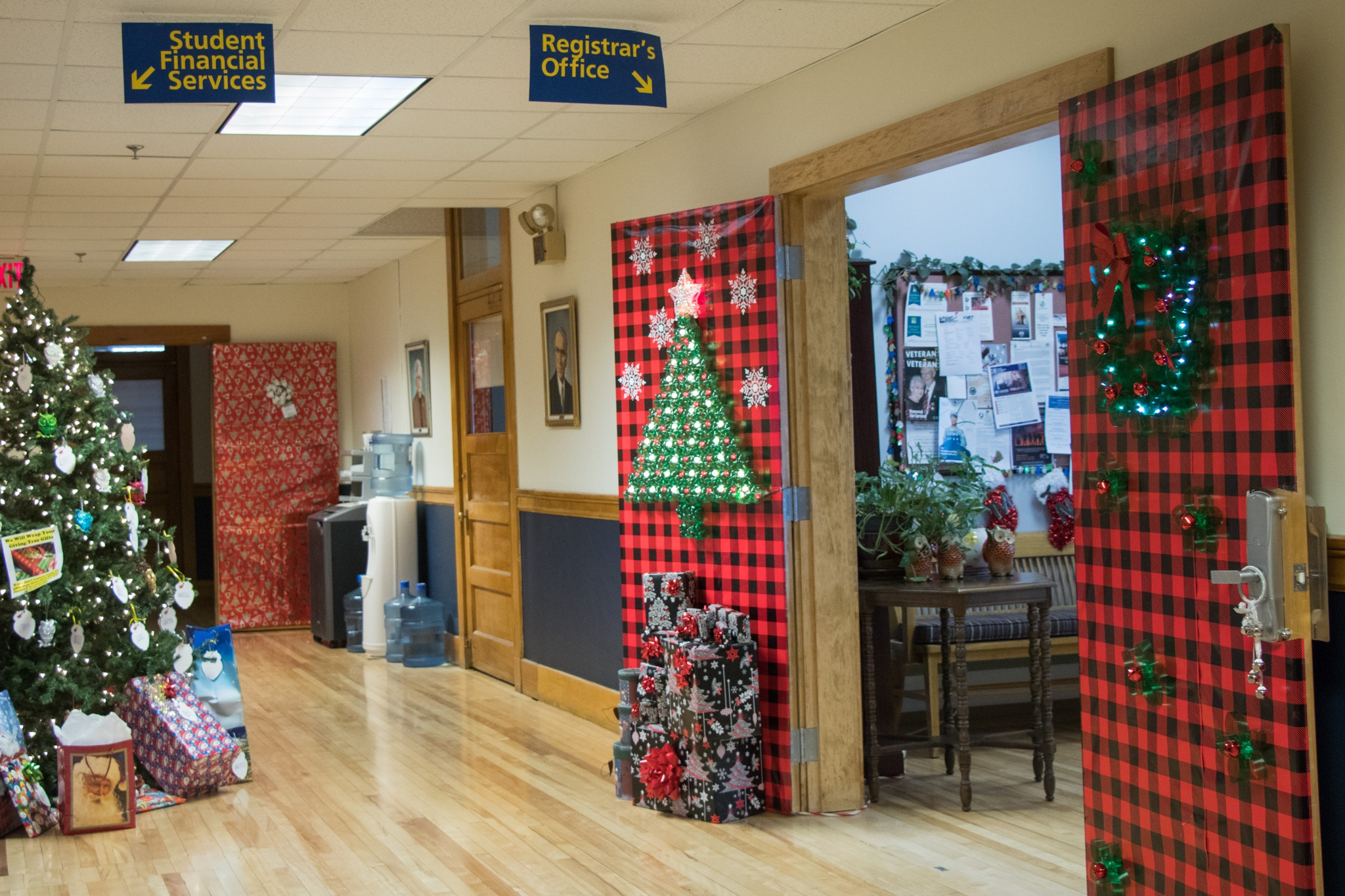 UMPI holds annual door decorating contest