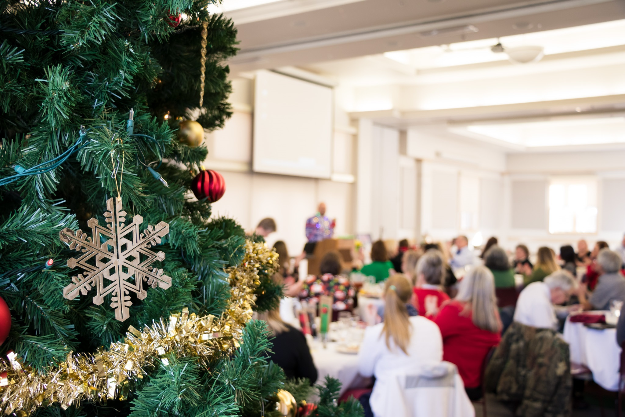 Employee Holiday Luncheon held