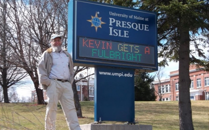 Kevin gets a Fulbright