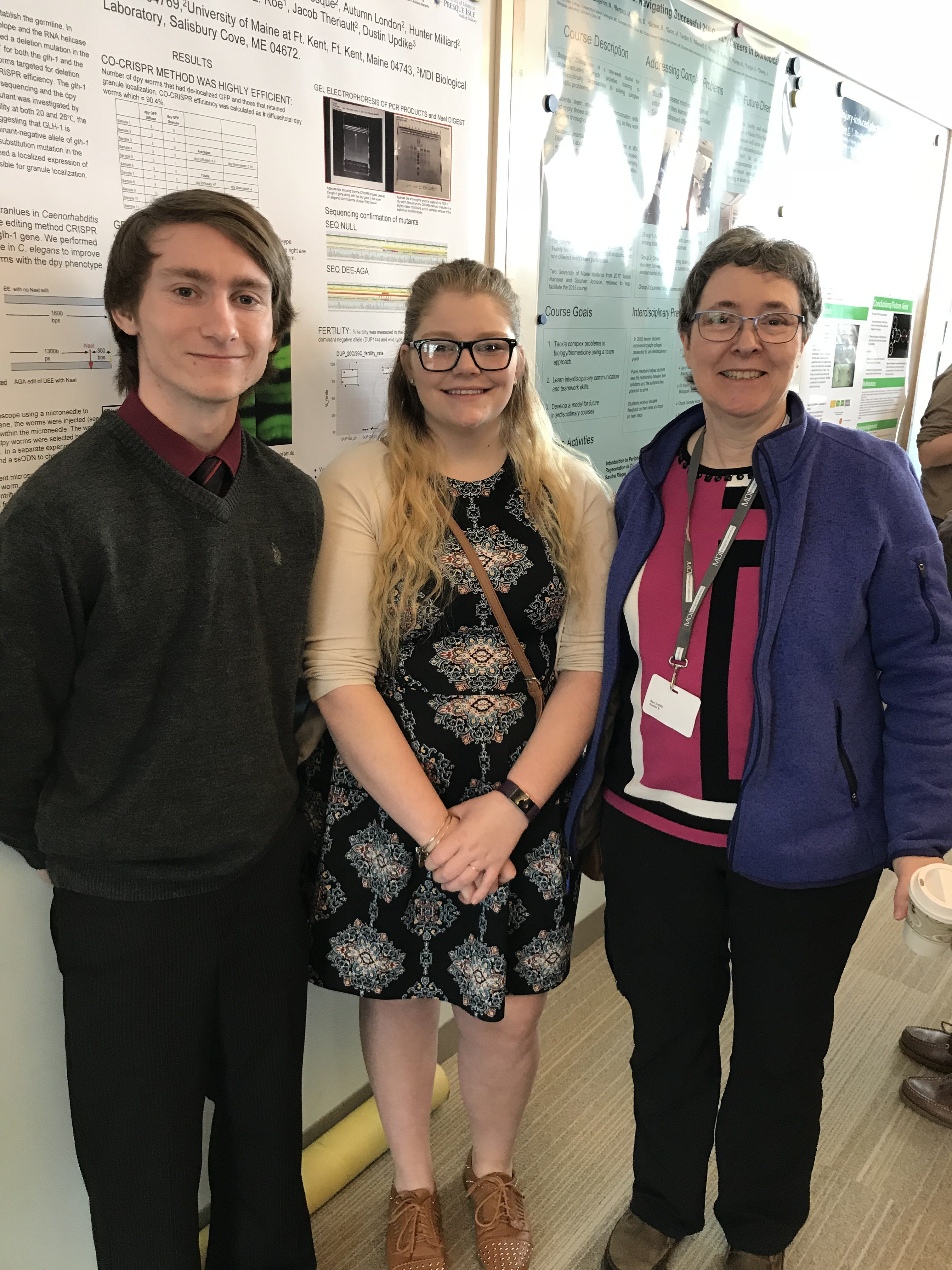 Biology students present at 45th Maine Biological and Medical Sciences Symposium