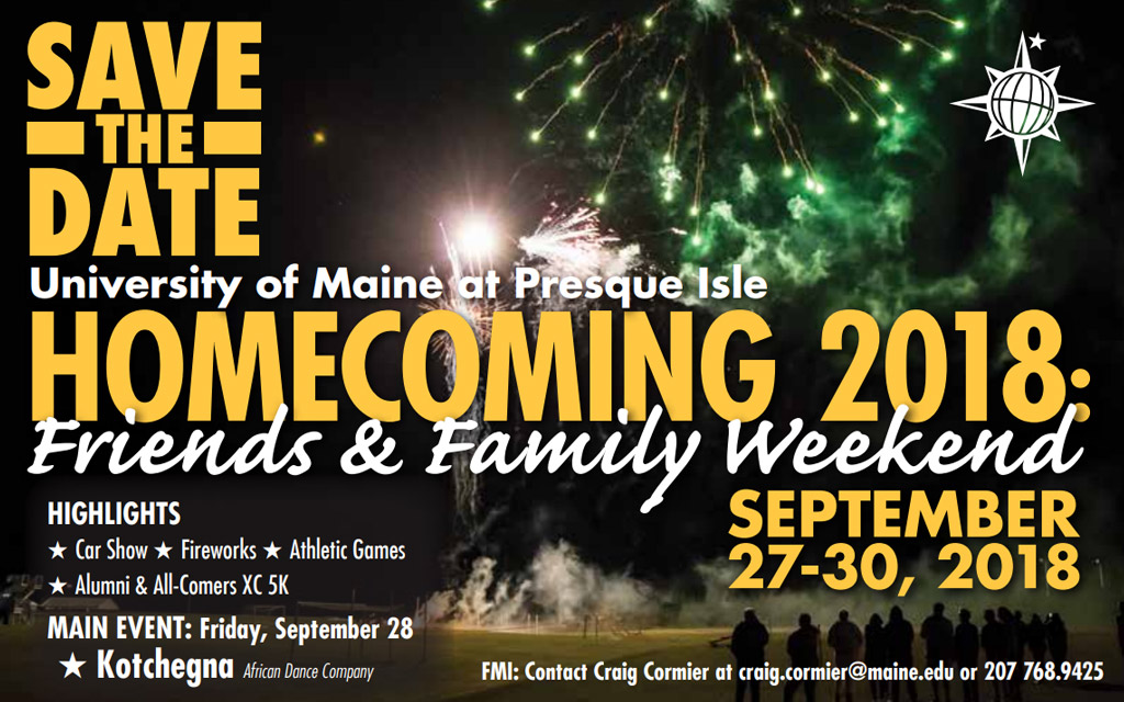 Homecoming 2018, September 27-29