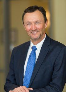 Headshot of graduation speaker Larry M. Shaw